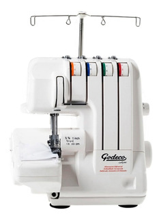 Máquina de coser Godeco Lock 1040 blanca 220V
