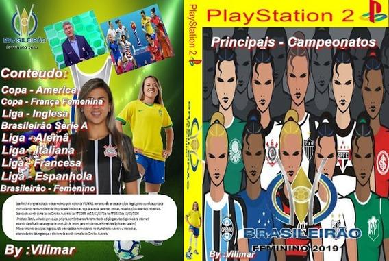 Winning Eleven Futebol Feminino 2019 - Playstation 2 Dvd Ps2