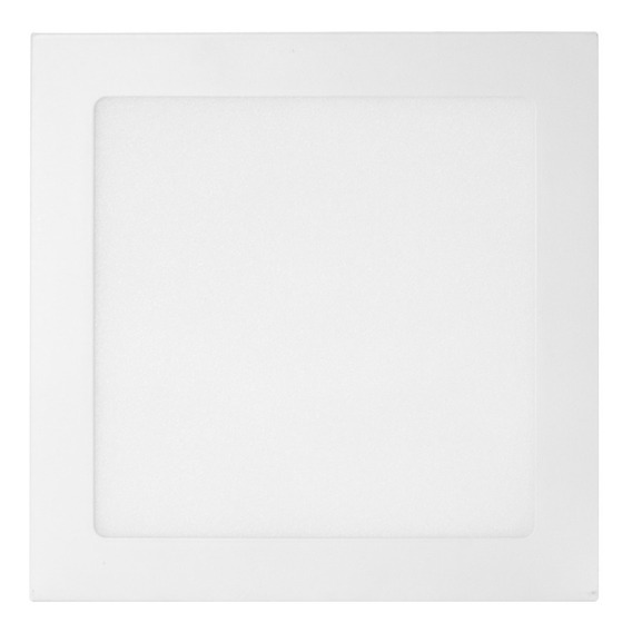 Lampara Led 18w Luz Blanca Borde Blanco Dul-1035bb Duraled