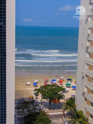 Pitangueiras - Calçadão Com Vista Para O Mar - Claro E Arejado - Pequena Vista Do Mar. - Kn0009