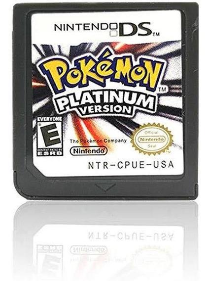 Pokémon Platinum - Original, Sem Caixa - Nintendo 2ds/ 3ds