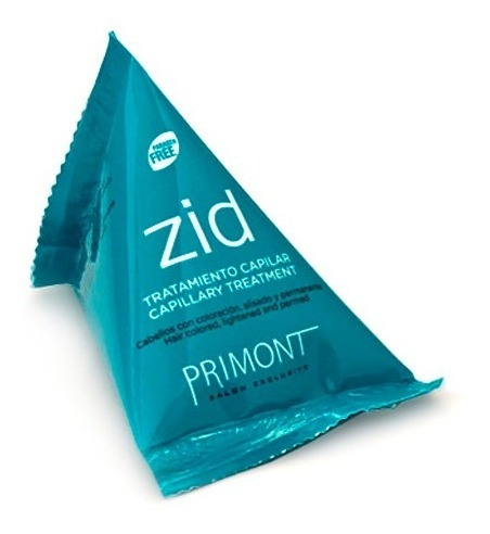 Ampolla Para Cabellos Con Coloración Zid X20ml Primont