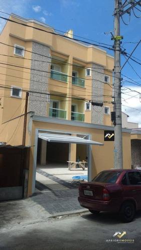 Cobertura Com 3 Dormitórios À Venda, 170 M² Por R$ 570.000,00 - Vila Curuçá - Santo André/sp - Co0840