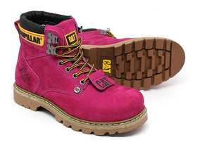 Bota Caterpillar Masculina Em Couro Second Shift Boot
