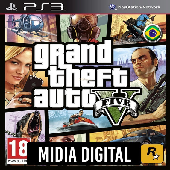 Ps3 - Gta 5 Grand Theft Auto V Portugues