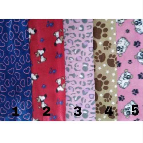 2 Mantas Cobertores Soft Pet 90 X 80 Cães E Gatos