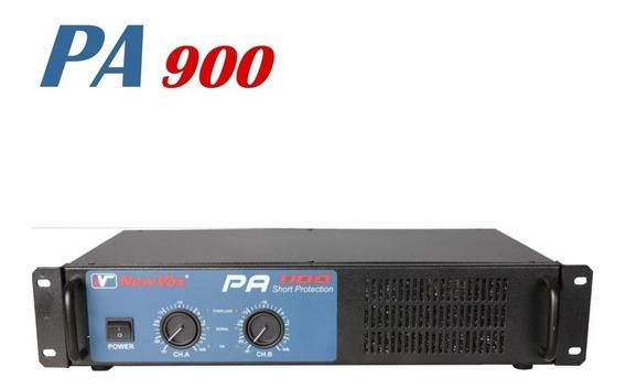 Amplificador Potência New Vox Pa-900 900w Profissional Op