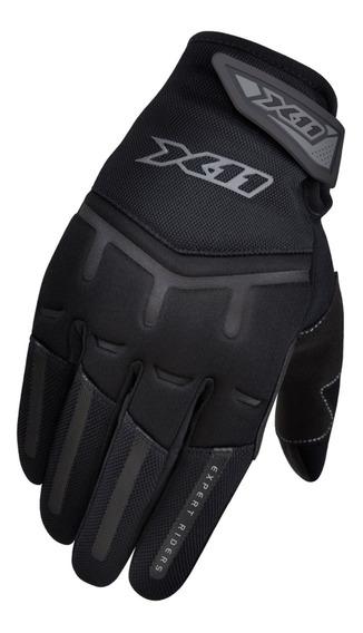 Luva X11 Fit X Masculina Motociclista Touch Nos Indicadores