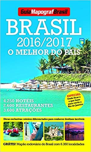 Livro Guia Mapograf Brasil 2016/2017