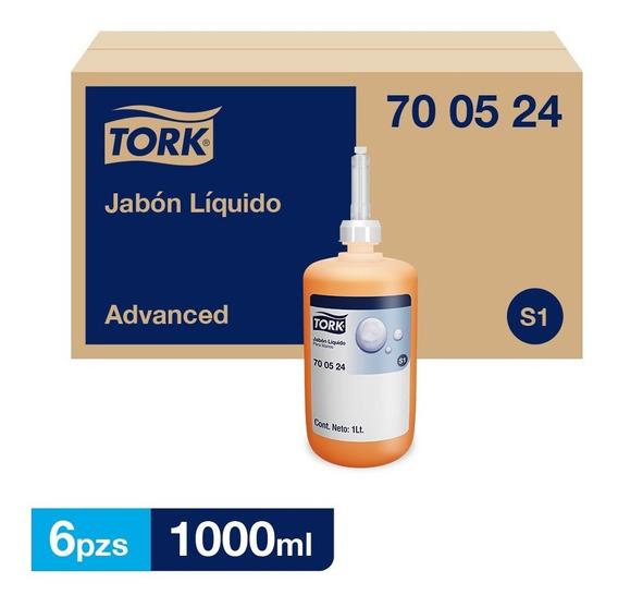 Tork Jabón Líquido 6 Botellas De 1l