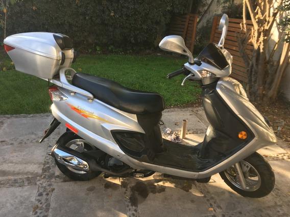 Vendo Moto Euromot Hj125 Como Nueva!