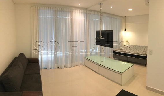 Residencial No Itaim Bibi Com 61m² - Área De Lazer Completo - Sf25483