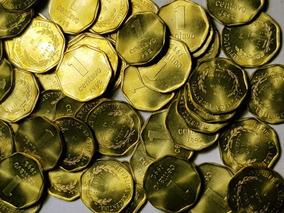 Ch C / Argentina Lote X 50 Monedas 1 Ctvo 1992 Sin Circular