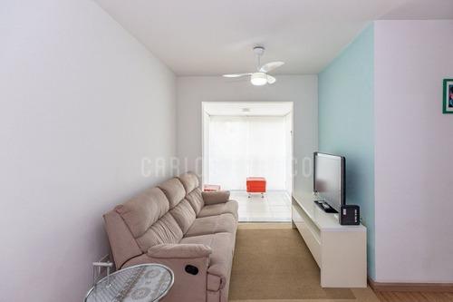 Imagem 1 de 15 de Apartamento De 60m², Com 2 Dormitórios (1 Suíte), Sala, Cozinha, 2 Banheiros Na Vila Romana - Cf71532