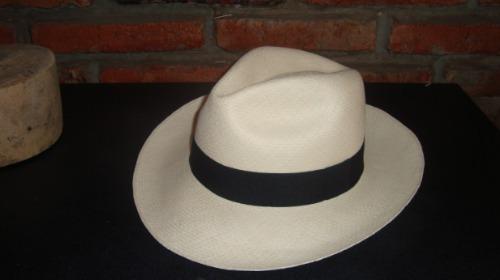 Sombrero De Paja Toquilla Original Montecristi Fino