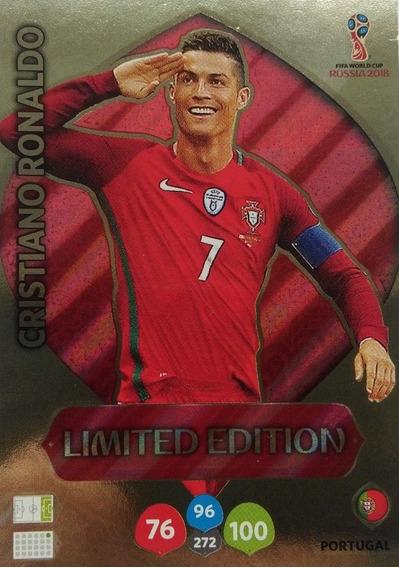 Card Copa 2018 Limited Edition Cristiano Ronaldo Cr7 538