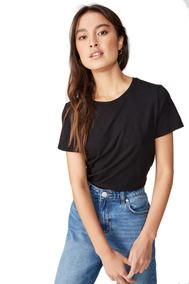 Camiseta Básica Feminina Blusinha Moda Tumblr Blusa Lisa