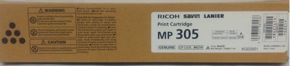 Toner Ricoh Original Mp 305 Black Mp 305spf | 842141