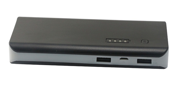 Power Bank Radioshack (negro/gris, 15000 Mah) | 77884