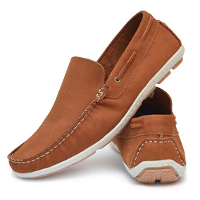 5d891bc8f8 Sapato Em Couro De Camelo Masculino - Sapatos no Mercado Livre Brasil