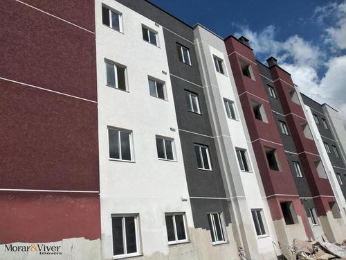 Imagem 1 de 15 de Apartamento Para Venda Em São José Dos Pinhais, Parque Da Fonte, 2 Dormitórios, 1 Banheiro, 1 Vaga - Sjp9944_1-1597982
