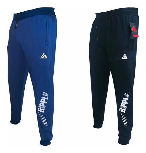 Pack X 2 Sudaderas Pantalón Jogger Tipo Spandex Alta Calidad