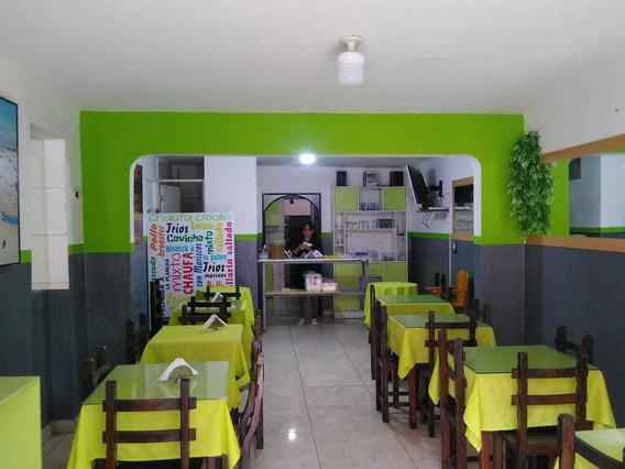 Restaurante Local Comercial (listo Para Trabajar)