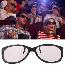 Lente Clip-on 3d Cinema Tv Sobre Óculos De Grau Filme 3d