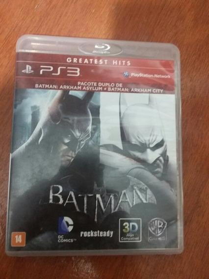 Batman Pacote Duplo Ps3