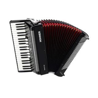 Ftm Acordeon A Piano Hohner Bravo Iii 96 Bajos Negro