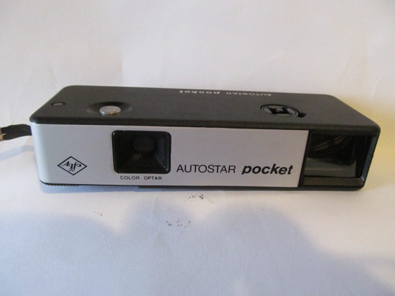 Camera Agfa Autostar Pocket Arte Som