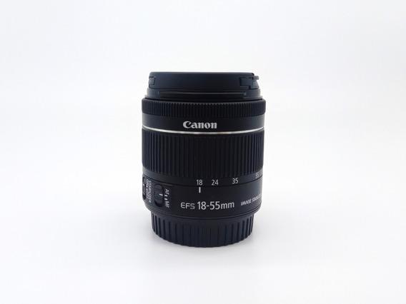 Lente Canon Ef-s 18-55mm F/4-5.6 Is Stm (sem Caixa)