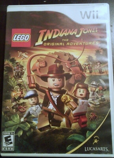 Nintendo Wii - Lego Indiana Jones The Original Adventures
