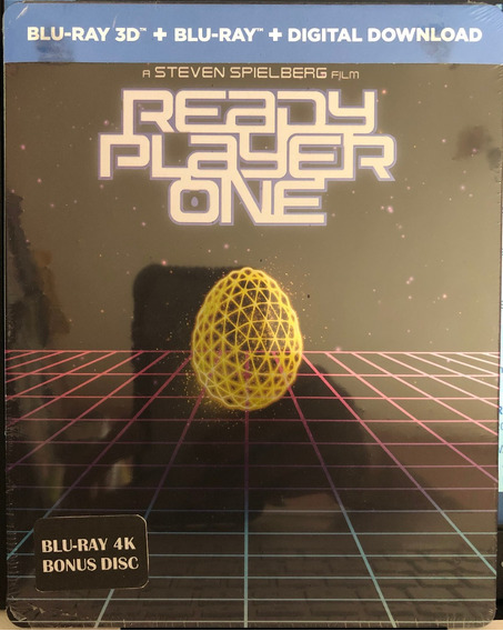 Ready Player One 4k Limited Edition Steelbook Español Latino