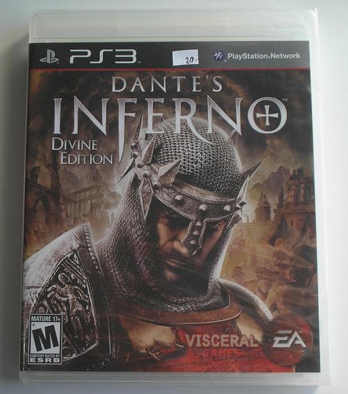 Dantes Inferno Divine Edition Ps3 Mídia Física Novo Lacrado