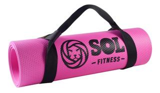 Colchoneta Yoga Mat Pilates 5 Mm Matt Colores - Sol Fitness