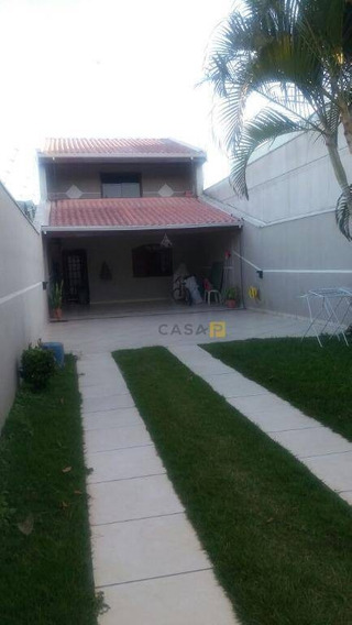 Casa Residencial À Venda, Parque Residencial Jaguari, Americana. - Ca0006