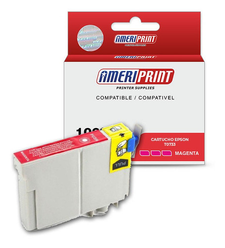 Cartucho Compatible Epson T0733 Magenta C79,cx3900,x100