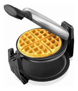 Waffle Maker Belgian Aicok - Gofre Giratorio De Acero Ino