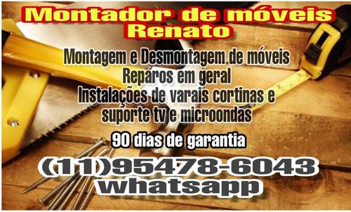 Imagem 1 de 4 de Montador De Móveis Renato