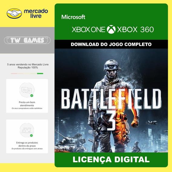 Battlefield 3 Bf3 Digital Retro Xbox One Xbox 360