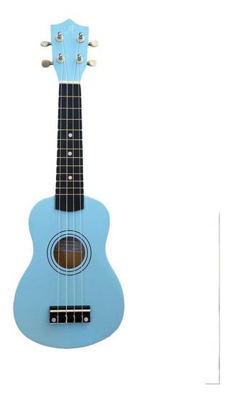 Ukulele Azul Andaluz Soprano Uks-01 Lb