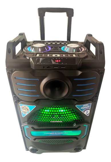 Caixa Som Bluetooth Rádio Fm Usb Cartão Sd Bivolt Automatico