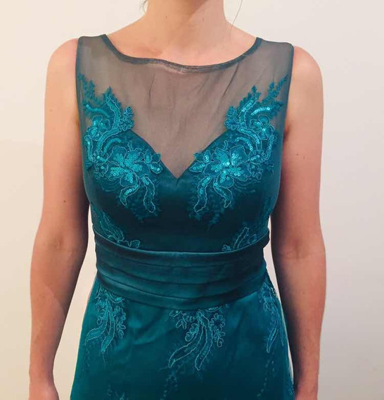 Vestido De Fiesta A Estrenar (diseño Ana Acosta)
