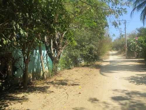 Casa Y Terreno En Venta En Puerto Escondido, Oaxaca