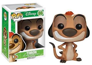 Funko Pop! Disney: La Figura De Accion Del Rey Leon Timon
