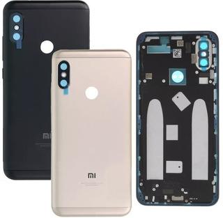 Tampa Traseira Carcaça Aro Xiaomi Redmi Mi A2 Com Botão