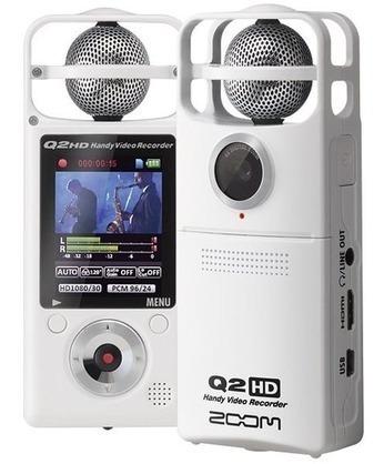 Gravador Vídeo Digital Áudio Zoom Q2 Hd Handy Recorder