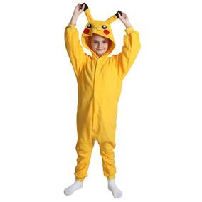 e75052e593 Pikachu Amarillo Cuerpo Entero Con Capucha Animales... (l)