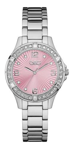 Reloj G By Guess Night Out Dama G84110l1 Plata